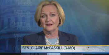 Sen. Claire McCaskill Pushes Back At Right Wing's Attacks On Hillary Clinton
