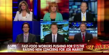 Fox Bulls And Bears Pundits Want 'Free Market' To Decide Race To The Bottom On Wages