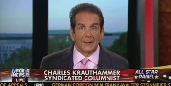 Krauthammer Attacks Obama For 'Wanting To End All Wars'