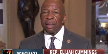 Elijah Cummings Says Allen West 'Should Be Ashamed Of Himself' For Duckworth Attacks