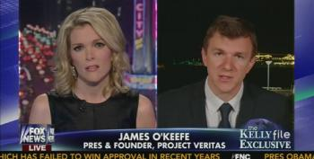 Megyn Kelly Helps James O'Keefe Push His Latest Scam