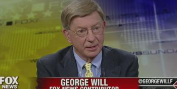 George Will Tries To Use Post Office And Amtrak To Attack VA