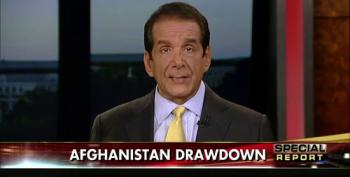 Krauthammer Calls Afghan Troop Withdrawal Announcement 'An Act Of Personal Narcissism'
