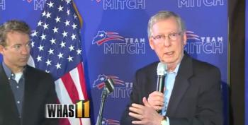 Mitch McConnell's Dis-Kynect With Reality