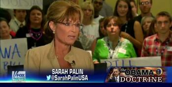 Palin: Obama Doesn't Understand The Mission Of Our Military