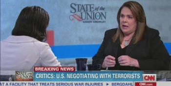 Candy Crowley Grills Susan Rice Over Whether The U.S. Negotiated With Terrorists