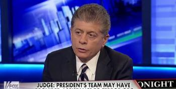 Wingnut Judge Napolitano Accuses Obama Of Providing Material Support To Terrorists