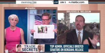 Joe Scarborough Goes Ballistic On Chuck Todd Over Sgt. Bergdahl's Father