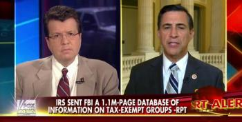 Issa Claims IRS Document To FBI Was A 'Violation Of The Law'