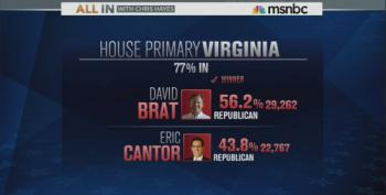 Eric Cantor Loses VA Primary Race