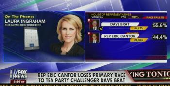 Ingraham: Brat Win 'Massive Wake Up Call' For Republicans
