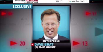 David Brat Refuses To Say If He's For Or Against The Minimum Wage