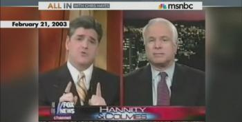 Chris Hayes Reminds Us Of McCain's 'Pearls Of Wisdom On Iraq' Through The Years