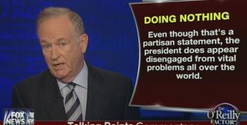 Bill O'Reilly Attacks Obama For Leading A 'Do-Nothing Government'