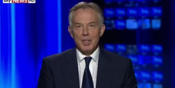 Tony Blair Rejects Claims That Iraq War Caused Current Crisis, As 'Bizarre'