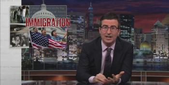 John Oliver Takes On Our Broken Immigration System