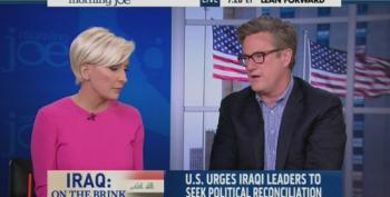 Joe Scarborough Wants Everyone To Get Along Now On Iraq