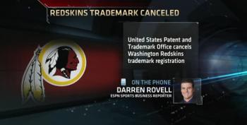 US Patent Office Rules Redskins Name Is Offensive, Cancels Trademark