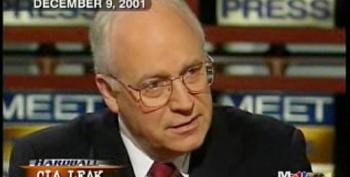 The Gall Of Dick Cheney