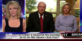 Dick And Liz Cheney Attack Obama For Wanting To 'Weaken The Nation'