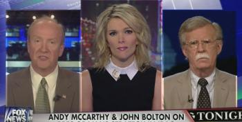 Megyn Kelly Grills Bolton And McCarthy On Iraq