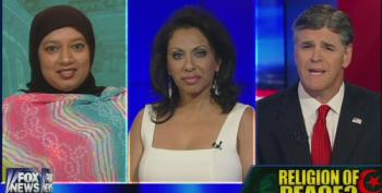 Hannity Attacks Muslim Student: Why Didn't You 'Speak Out' Against Sharia?