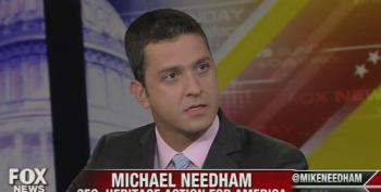 Heritage's Needham Attacks Obama's 'Foreign Policy Of Weakness' And Disengagement