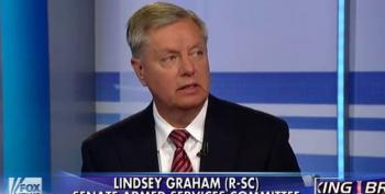 Lindsey Graham Calls For Air Strikes To 'Stop Another 9-11'