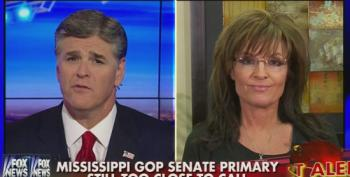 Palin Pretends She Might Consider Changing To Third Party