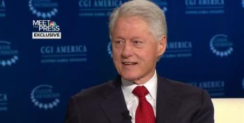 Bill Clinton Slams Dick Cheney: 'If They Hadn't Gone To War In Iraq None Of This Would Be Happening'