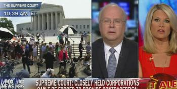 Karl Rove Pushes Hobby Lobby's Fantasy That Contraceptives Cause Abortion