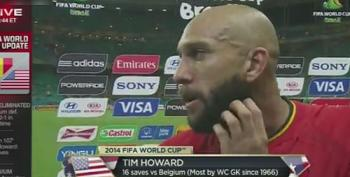 Tim Howard Speaks After USA Loses 2-1 To Belgium In Round Of 16