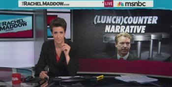Maddow Calls Out Paul For Flip Flop On Civil Rights Act