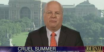 Rove: Obama's Low Poll Numbers His Own Fault, Unlike Bush