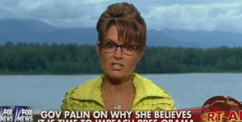 Palin: Let's Get Going On Impeaching President Obama