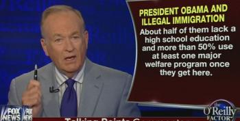 O'Reilly Claims Obama Doesn't Really Want To Solve The 'Chaotic Border Situation'