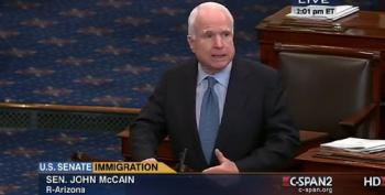 McCain Tells Central Americans Kids To Just 'Go To Our Consulate'