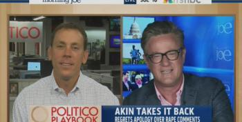 Joe Scarborough Shocked Huckabee Wrote The Forward To Todd Akin's New Book