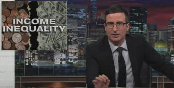 John Oliver On The Wealth Gap And American Optimism
