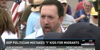 Arizona Republican Confronts YMCA Campers' Bus, Mistakes Them For Migrant Kids