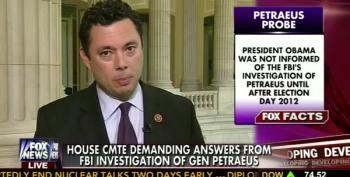 Jason Chaffetz Presses Another 'Benghazi Conspiracy' Involving David Petraeus