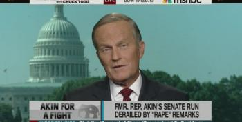 Todd Akin Can Only Name One Instance Where 'Abortion' Should Be Legal - Tubal Pregnancies