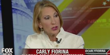 Carly Fiorina: Obama Should Immediately Stop Talking To Putin
