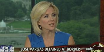 Fox's Ashburn Attacks Jose Vargas As 'Selfish' For Going Down To The Border