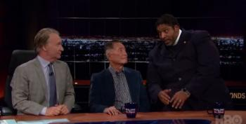 Rev. Barber Tells Bill Maher He's An Atheist Too When It Comes To A God Who Sides With Bigots