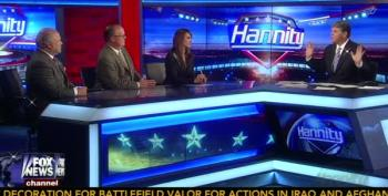 Hannity Panel Goes Nuts Over Defending Cop Who Killed A Man Using Illegal Choke Hold