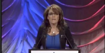 Sarah Palin's Oddball Speech In Denver Sounds Downright Inebriated