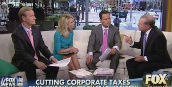 Fox Pundits Cheer On Corporations Fleeing The United States To Avoid Paying Taxes