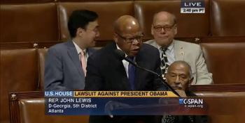Rep. John Lewis Blasts Republicans For Reaching A New Low With Disgraceful Lawsuit