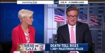 Israel Loses Joe Scarborough, Calls Gaza Offensive 'Asinine'